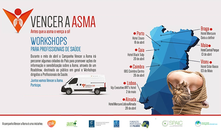 SPAIC promove workshops sobre asma